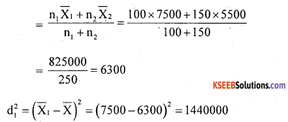 1st PUC Statistics Question Bank Chapter 5 Analysis of Univariate Data - 182