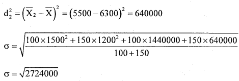 1st PUC Statistics Question Bank Chapter 5 Analysis of Univariate Data - 183