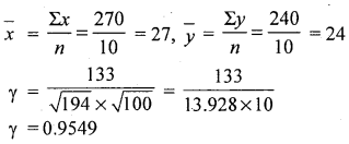 1st PUC Statistics Question Bank Chapter 5 Analysis of Univariate Data - 219