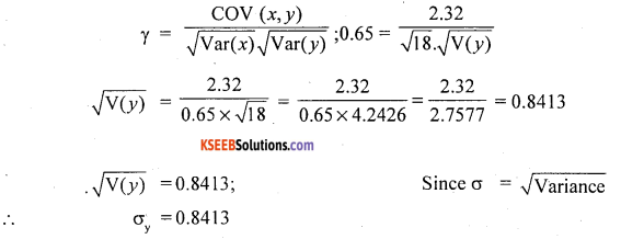 1st PUC Statistics Question Bank Chapter 5 Analysis of Univariate Data - 233