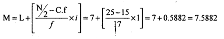1st PUC Statistics Question Bank Chapter 5 Analysis of Univariate Data - 40