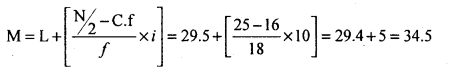 1st PUC Statistics Question Bank Chapter 5 Analysis of Univariate Data - 47