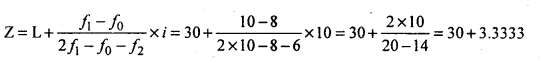 1st PUC Statistics Question Bank Chapter 5 Analysis of Univariate Data - 61