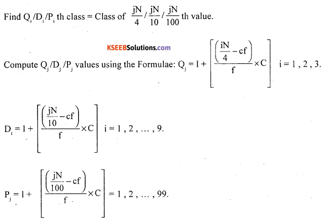 1st PUC Statistics Question Bank Chapter 5 Analysis of Univariate Data - 8