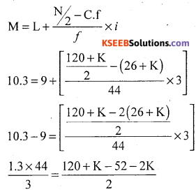 1st PUC Statistics Question Bank Chapter 5 Analysis of Univariate Data - 93