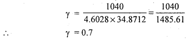1st PUC Statistics Question Bank Chapter 6 Analysis of Bivariate Correlation and Regression -6
