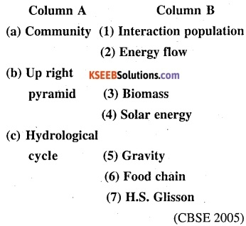 2nd PUC Biology Question Bank Chapter 14 Ecosystem 12