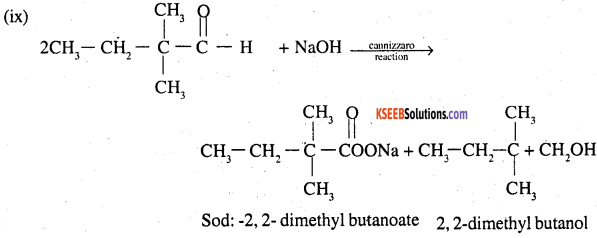 2nd PUC Chemistry Question Bank Chapter 12 Aldehydes, Ketones and Carboxylic Acids - 27