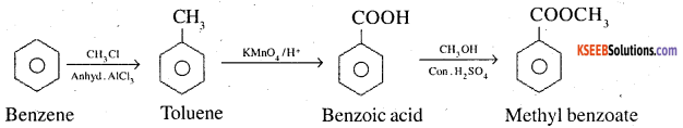 2nd PUC Chemistry Question Bank Chapter 12 Aldehydes, Ketones and Carboxylic Acids - 45