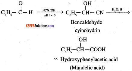 2nd PUC Chemistry Question Bank Chapter 12 Aldehydes, Ketones and Carboxylic Acids - 57