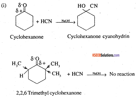 2nd PUC Chemistry Question Bank Chapter 12 Aldehydes, Ketones and Carboxylic Acids - 67