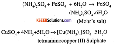 2nd PUC Chemistry Question Bank Chapter 9 Coordination Compounds - 1
