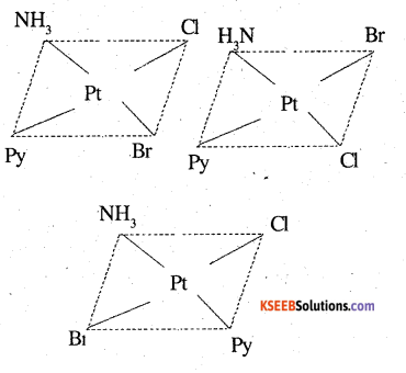2nd PUC Chemistry Question Bank Chapter 9 Coordination Compounds - 25