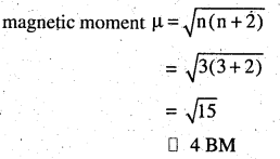 2nd PUC Chemistry Question Bank Chapter 9 Coordination Compounds - 45