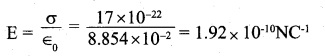 2nd PUC Physics Question Bank Chapter 1 Electric Charges and Fields 30