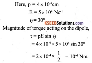 2nd PUC Physics Question Bank Chapter 1 Electric Charges and Fields 9