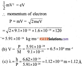 2nd PUC Physics Question Bank Chapter 11 Dual Nature of Radiation and Matter 13