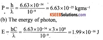 2nd PUC Physics Question Bank Chapter 11 Dual Nature of Radiation and Matter 16