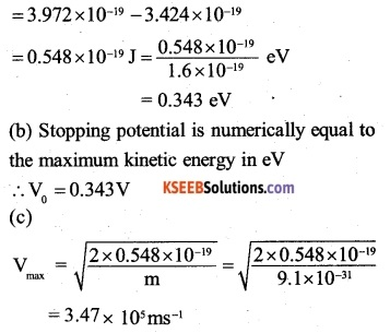 2nd PUC Physics Question Bank Chapter 11 Dual Nature of Radiation and Matter 3
