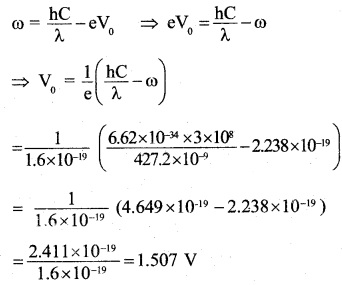 2nd PUC Physics Question Bank Chapter 11 Dual Nature of Radiation and Matter 34