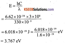 2nd PUC Physics Question Bank Chapter 11 Dual Nature of Radiation and Matter 9