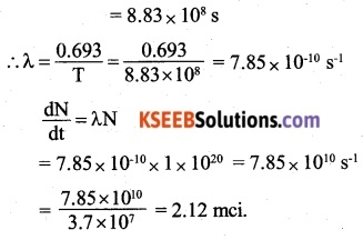 2nd PUC Physics Question Bank Chapter 13 Nuclei 15