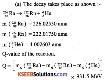 2nd PUC Physics Question Bank Chapter 13 Nuclei 18