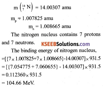 2nd PUC Physics Question Bank Chapter 13 Nuclei 3