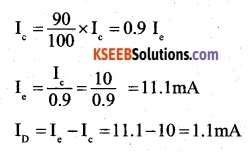 2nd PUC Physics Question Bank Chapter 14 Semiconductor Electronics Materials, Devices and Simple Circuits 27