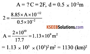 2nd PUC Physics Question Bank Chapter 2 Electrostatic Potential and Capacitance 36