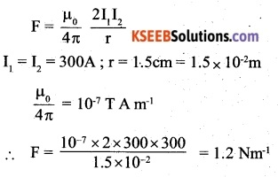 2nd PUC Physics Question Bank Chapter 4 Moving Charges and Magnetism 32