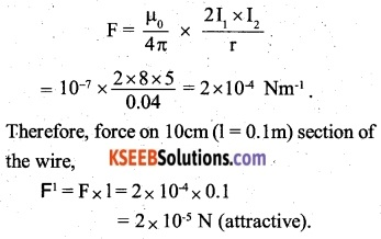 2nd PUC Physics Question Bank Chapter 4 Moving Charges and Magnetism 5