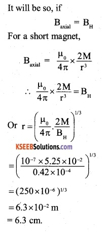 2nd PUC Physics Question Bank Chapter 5 Magnetism and Matter 13