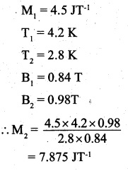 2nd PUC Physics Question Bank Chapter 5 Magnetism and Matter 29