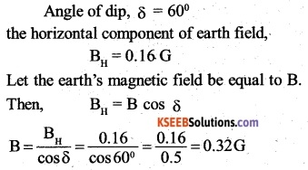 2nd PUC Physics Question Bank Chapter 5 Magnetism and Matter 5