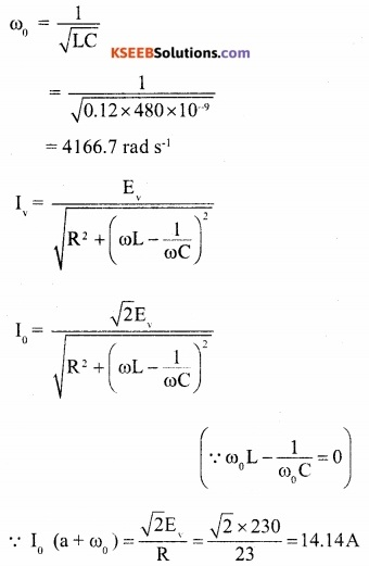 2nd PUC Physics Question Bank Chapter 7 Alternating Current 30