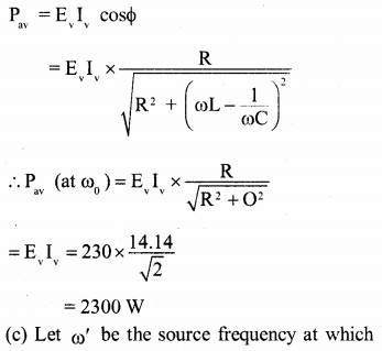 2nd PUC Physics Question Bank Chapter 7 Alternating Current 31