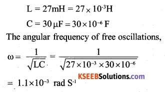 2nd PUC Physics Question Bank Chapter 7 Alternating Current 7