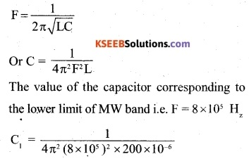 2nd PUC Physics Question Bank Chapter 7 Alternating Current 9