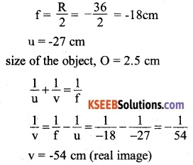2nd PUC Physics Question Bank Chapter 9 Ray Optics and Optical Instruments 1