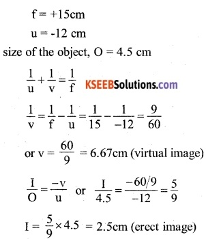 2nd PUC Physics Question Bank Chapter 9 Ray Optics and Optical Instruments 3