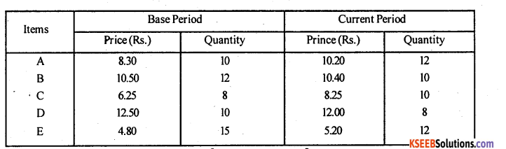 2nd PUC Statistics Model Question Paper 1 with Answers - 31