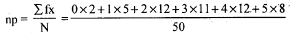 2nd PUC Statistics Model Question Paper 2 with Answers - 41