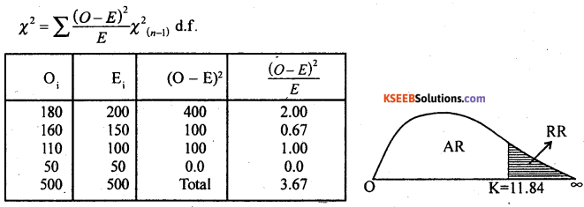 2nd PUC Statistics Model Question Paper 3 with Answers - 48