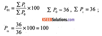 2nd PUC Statistics Question Bank Chapter 2 Index Numbers - 13