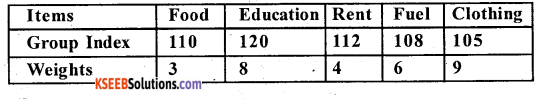 2nd PUC Statistics Question Bank Chapter 2 Index Numbers - 6