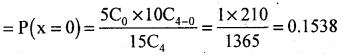 2nd PUC Statistics Question Bank Chapter 5 Theoretical Distribution - 105