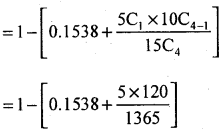 2nd PUC Statistics Question Bank Chapter 5 Theoretical Distribution - 106