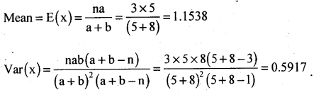2nd PUC Statistics Question Bank Chapter 5 Theoretical Distribution - 109
