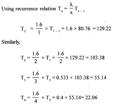 2nd PUC Statistics Question Bank Chapter 5 Theoretical Distribution - 121
